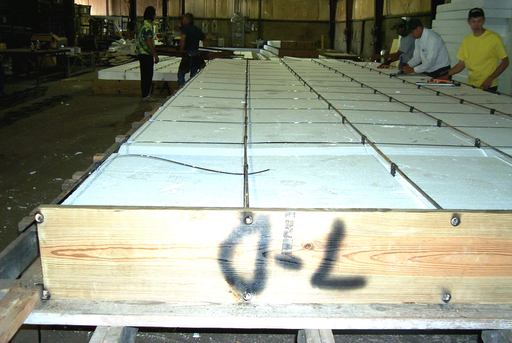 Prefabrication Of Structutal Insulated Wall Panels