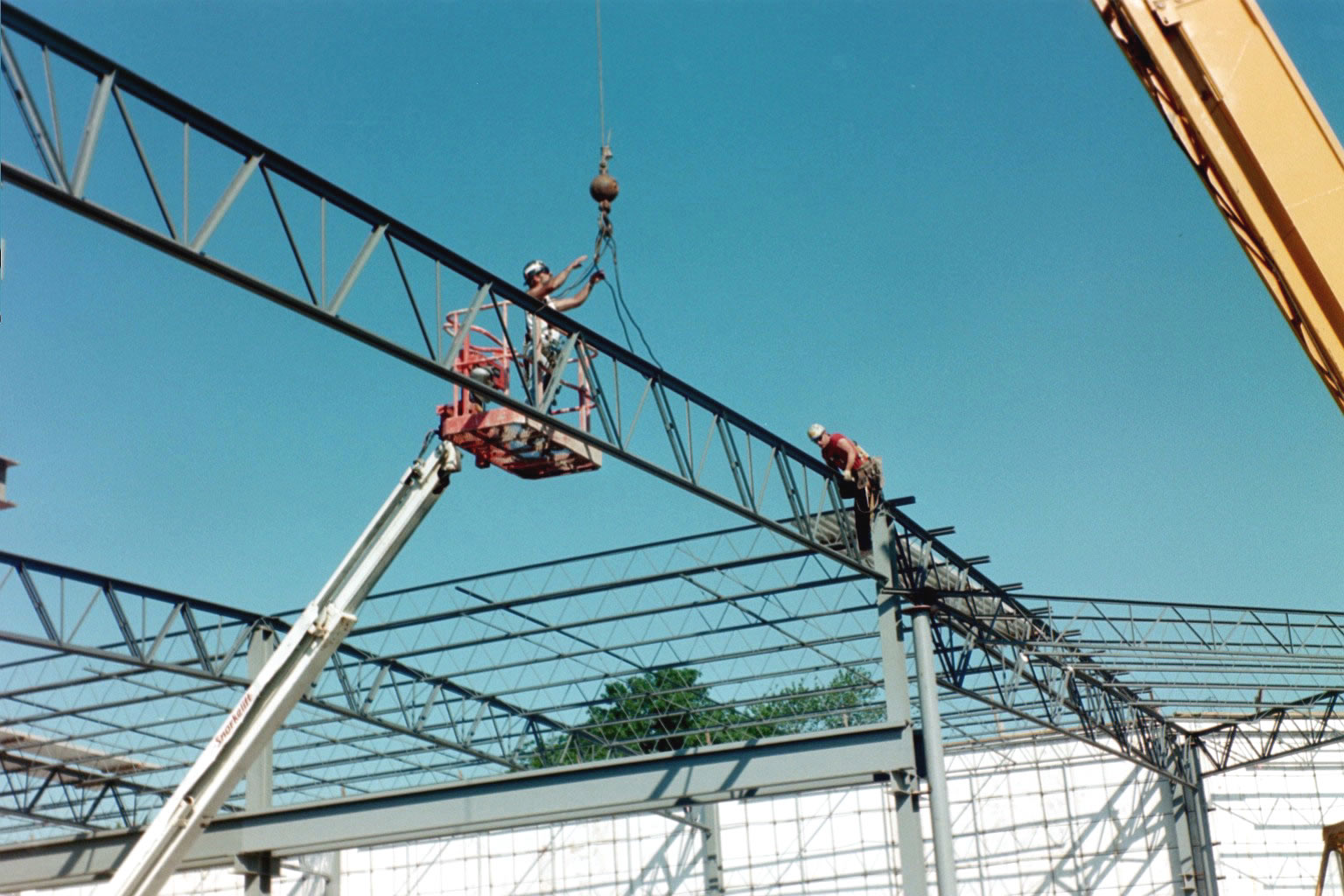 Steel Buildings Metal Frame : Pictures of a reinforcing steel frame for solarcrete
