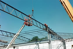 Reinforcing Steel Frame Picture #2 - Alex Products Building