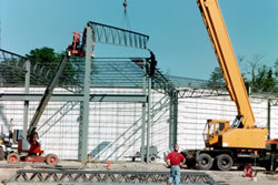 Reinforcing Steel Frame Picture #1 - Alex Products Building